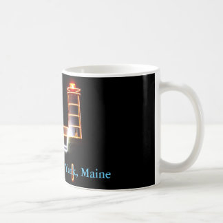 Holiday Cheer From The Nubble Lighthouse Coffee Mug