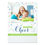 Holiday Cheer Photo Cards | Colourful Confetti
