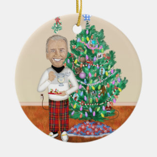 Holiday Cheer with Uncle Joe Ornament