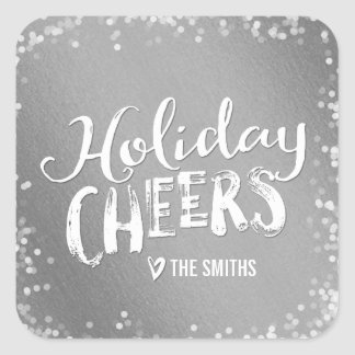 Holiday Cheers Editable Color Holiday Sticker