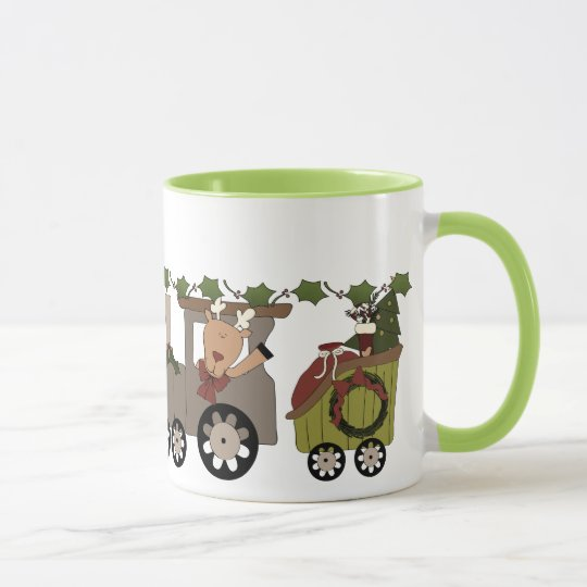 Holiday Choo Choo Train Mug