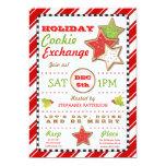 Holiday Christmas Cookie Exchange Invitation 13 Cm X 18 Cm Invitation Card