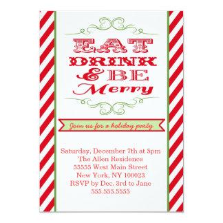 Holiday Christmas Party Invitation