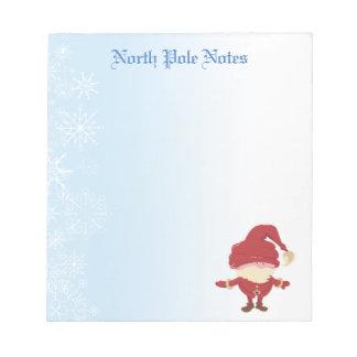 Holiday Christmas Santa Claus Notepads