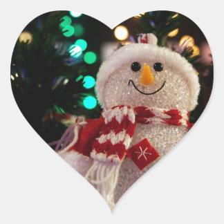 Holiday Christmas Tree Party Destiny Celebration Heart Stickers