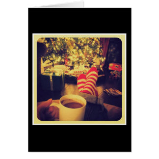 Holiday Cocoa Greeting Card