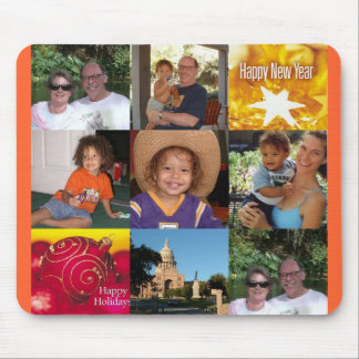 holiday collage 2006 mouse pad