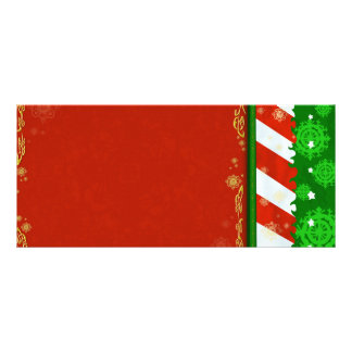 Holiday Colors Custom Rack Card