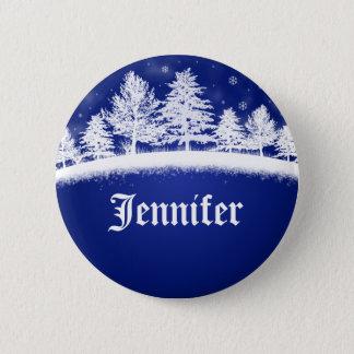 Holiday Company Party Name Tags Christmas Xmas 6 Cm Round Badge
