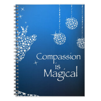Holiday Compassion is Magical Notebook