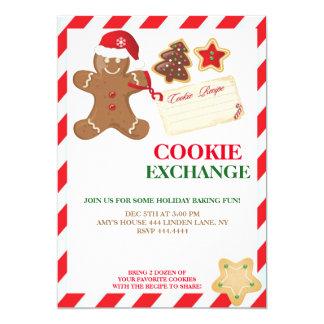 Holiday Cookie Exchange Swap Invitations