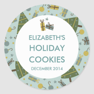 Holiday Cookies Personalized Stickers / Labels
