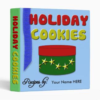Holiday Cookies Recipe Avery Binder