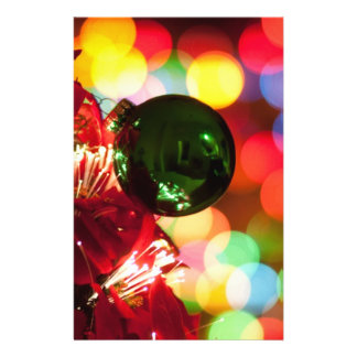 Holiday Decorations Christmas Tree Lights Full Color Flyer
