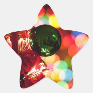 Holiday Decorations Christmas Tree Lights Stickers