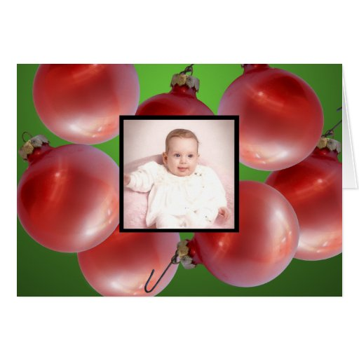 Holiday Decorations/ Photo Card
