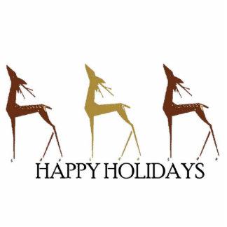 Holiday Deer  Photo Sculpture