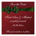 Holiday Delight Save the Date Invitation