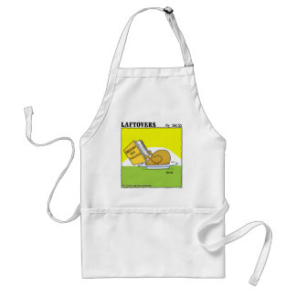 Holiday Dinner Laftovers Turkey Cartoon Funny Standard Apron