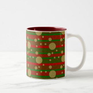 Holiday Dots Mugs