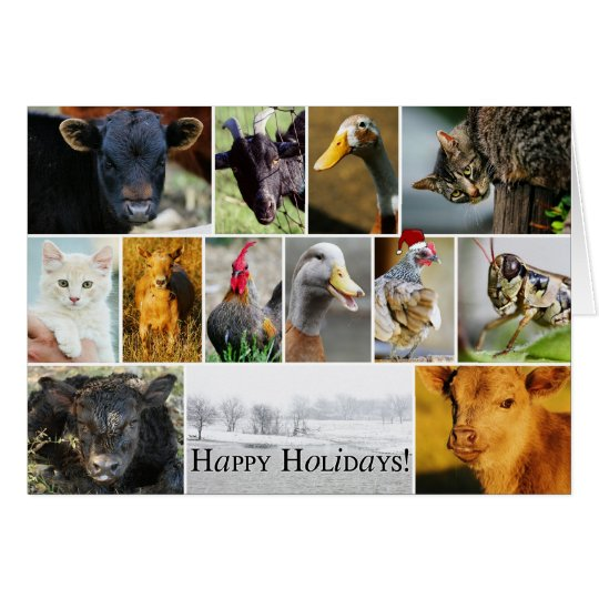 Holiday FARM Card
