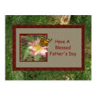 Holiday ~ Father's Day ~ Blessed Postcard