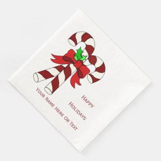 Holiday Festiva Disposable Napkins