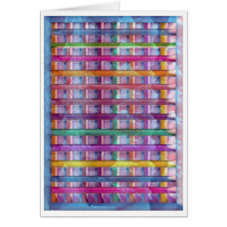 Holiday Fever : Illuminated Colorful Flourscent Ro Greeting Card
