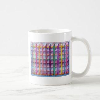 Holiday Fever : Illuminated Colorful Flourscent Ro Basic White Mug