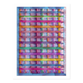 Holiday Fever Illuminated Colorful Flourscent Ro Post Cards