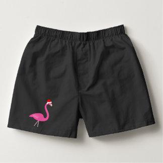 Holiday Flamingo Boxer Shorts Boxers