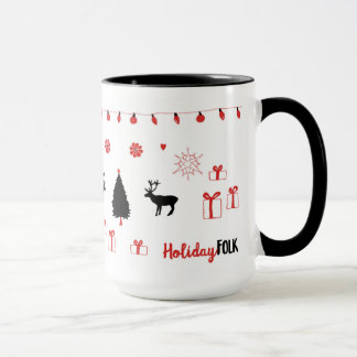 Holiday Folk Mug