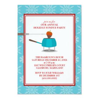 Holiday Fondue Party Invitations
