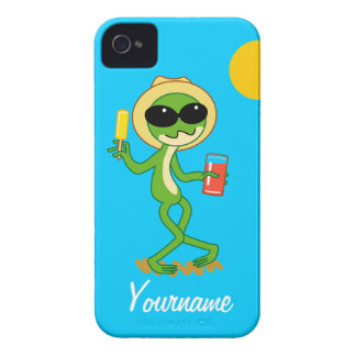Holiday Frog iPhone 4 Case-Mate Case