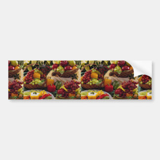 Holiday fruit baskets bumper stickers