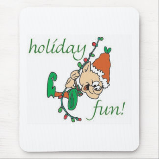 Holiday Fun Elf Mouse Pad