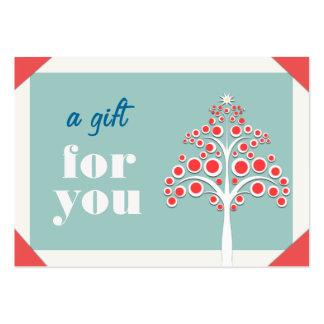 Holiday Gift Certificate Business Cardi Pack Of Chubby Business Cards