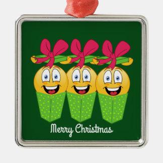 Holiday Gift Emojis Christmas Ornament