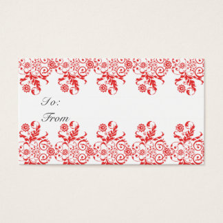Holiday Gift Presents Label  Tag Chic