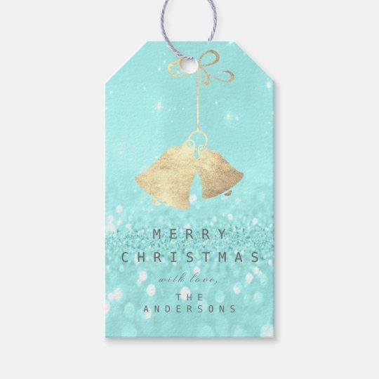 Holiday Gift To Gold Jingle Bells Tiffany Glitter