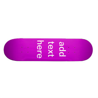 Holiday Gifts Create Your Own 21.3 Cm Mini Skateboard Deck