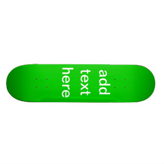Holiday Gifts Create Your Own 21.6 Cm Skateboard Deck