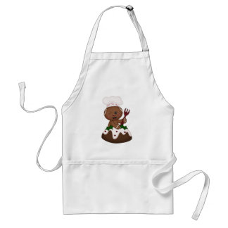 Holiday Ginger Apron