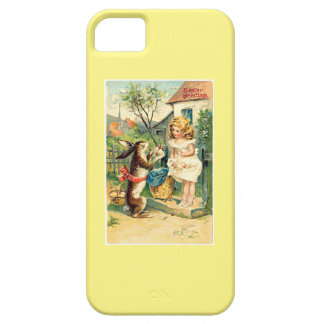 Holiday Girl & Bunny Vintage Easter iPhone 5 Case