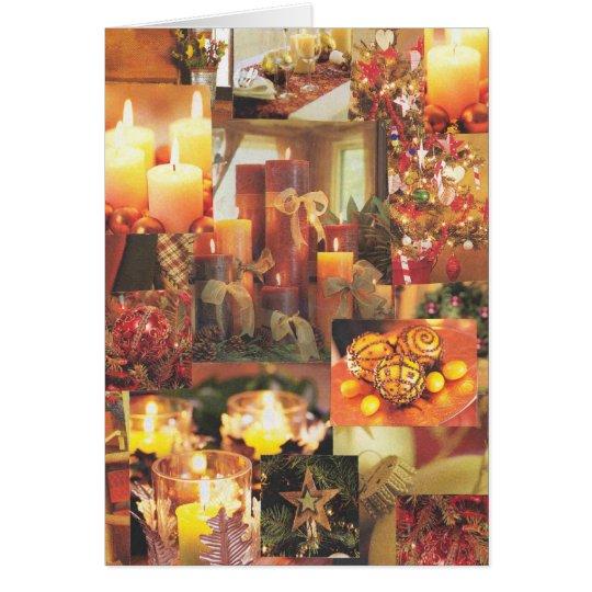 Holiday Glow Card