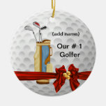 Holiday GOLF Personalised Ornament