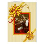 Holiday Greeting Bows Christmas Card