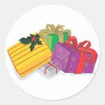 Holiday Greeting Card Envelope Seals