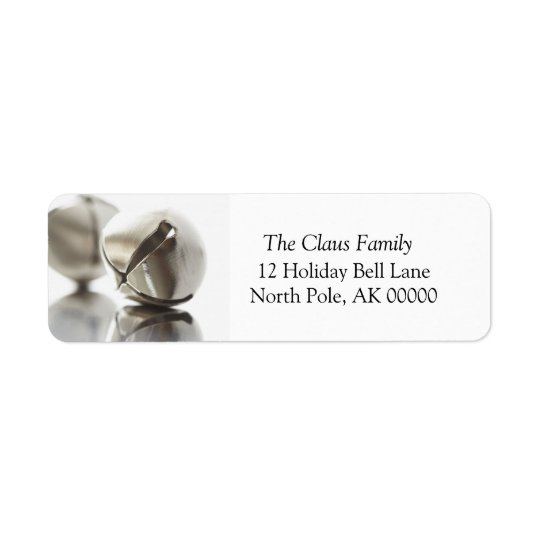 Holiday Greeting Card Return Address Sticker