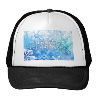 Holiday Greeting Hat